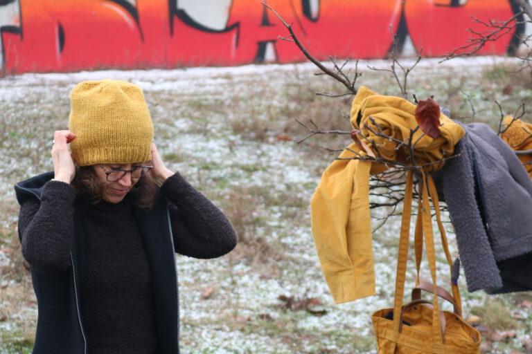 Foto shooting bei fast Schnee